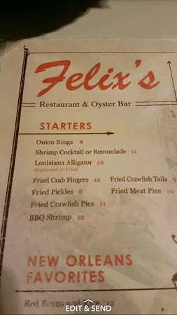 Photo of American Restaurant Felix's Restaurant and Oyster Bar at 739 Iberville St, New Orleans, LA 70130, United States