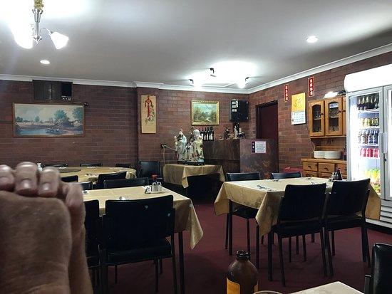 กันเนดาห์, ออสเตรเลีย: Inside the restaurant