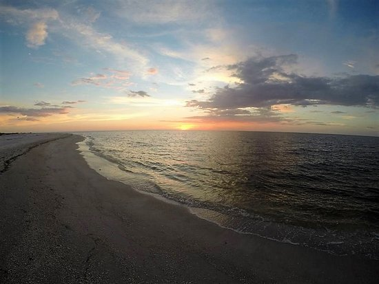 Cayo Costa State Park: Cayo Costa sunset.