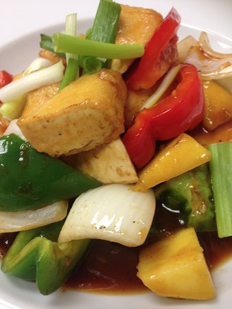 Georgetown, Kanada: Mango Sauce - Tofu