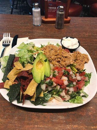 Airway Heights, WA: Chicken taco salad.