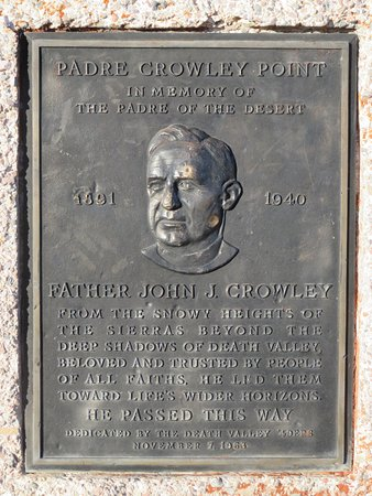 Father Crowley Vista Point: explaining the name