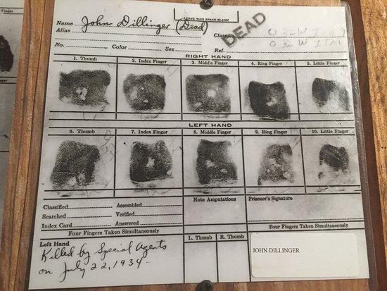 Gangster Museum of America: Gangster John Dillinger