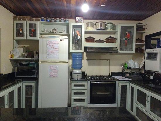 Praia Serena : A cozinha onde tudo é feito com muito carinho