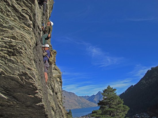 Step into Natures Elevator with Via Ferrata Queenstown