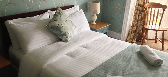 Hexham, UK: Bedroom at The Queens Arms, Acomb