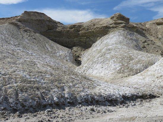 Salt Creek: salt dunes view from the boardwalk