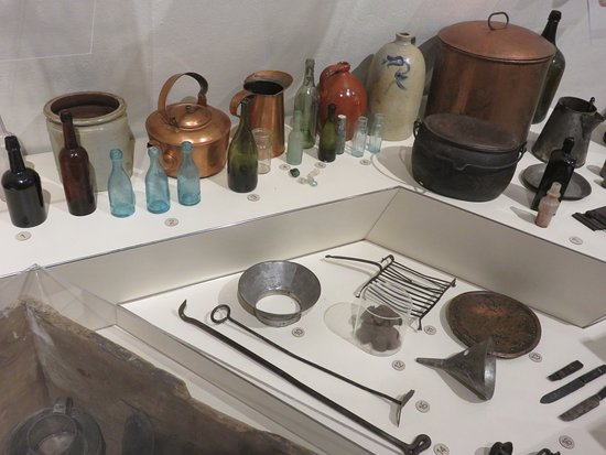U.S.S. Cairo Museum : Galley equipment in near perfect condition