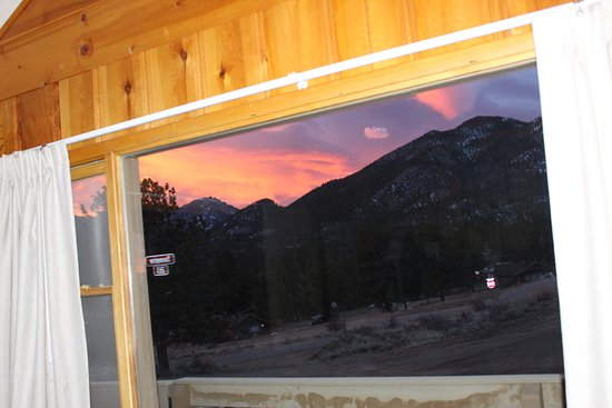 YMCA of the Rockies: Living Room view