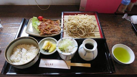 Makinohara, Japan: B定食(ミニ焼肉定食)