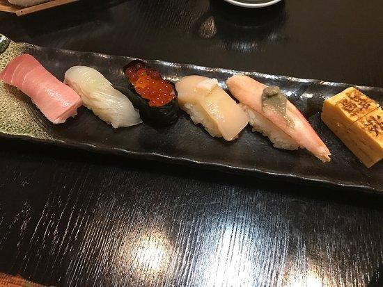 Mutsu, Jepang: 鮨兆の5000円コース