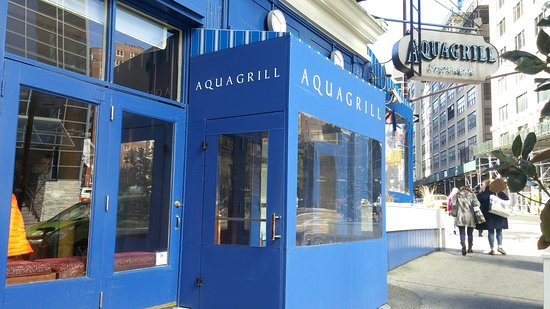 Photo of Seafood Restaurant Aquagrill at 210 Spring St, New York, NY 10012, United States