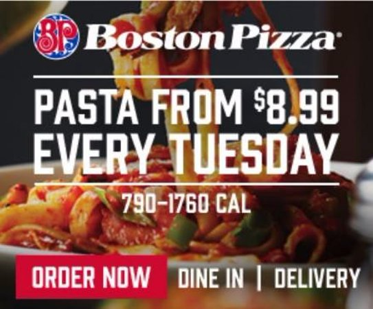 Orillia, Kanada: Pasta Tuesday