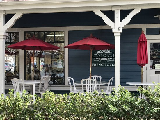 Danville, CA: patio seating is available, too