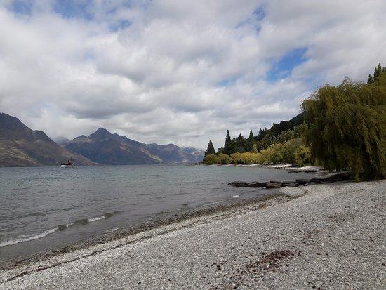 ควีนส์ทาวน์, นิวซีแลนด์: บริเวณหาด