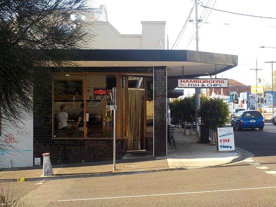 Brunswick, Australia: View across Hunter Street