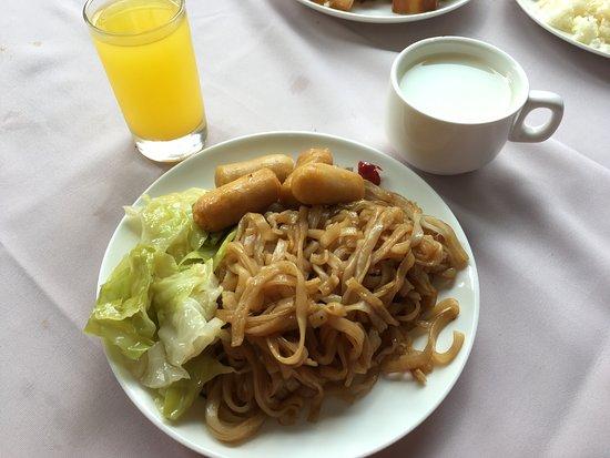 Baohong Hotel: breakfast
