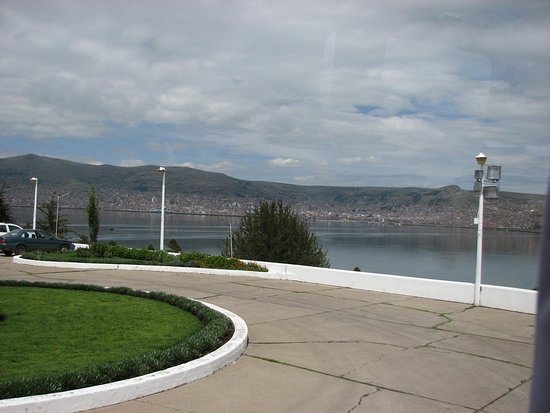 Libertador Lake Titicaca: From front of hotel