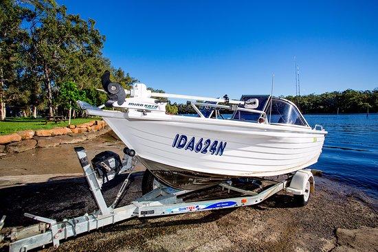 Wooli, Australia: Onsite Boat Ramp