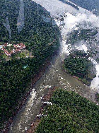 Cataratas do Iguaçu: Iguazu Falls--From Helicopter