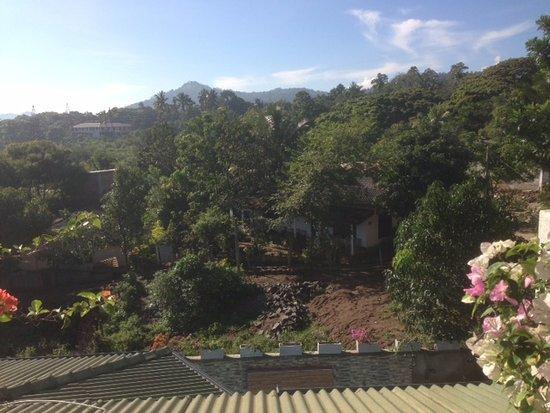 Kundasale, Sri Lanka: Roof Terrace View