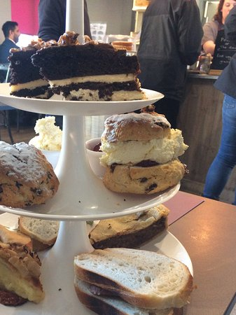 Longframlington, UK: Afternoon tea for two