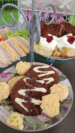 The Secret Tea Garden: afternoon tea selection