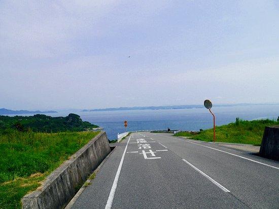 Tonosho-cho, Japonya: 豊島美術館に向かう道