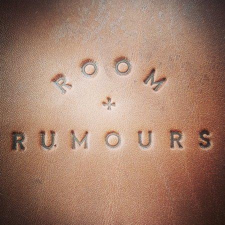 room rumours the logo on the bill slip