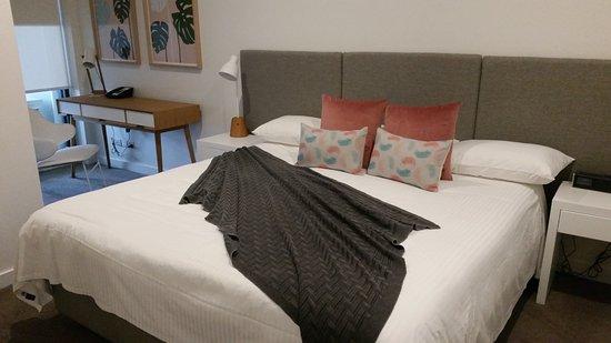 Sandringham, Austrália: King size bed