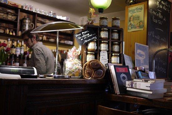 Au Gouter breton chez Tudal : interieur