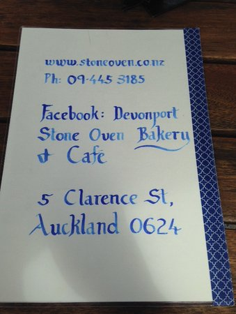 Devonport, New Zealand: Cafe information