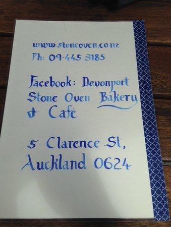 Devonport, Nya Zeeland: Cafe information