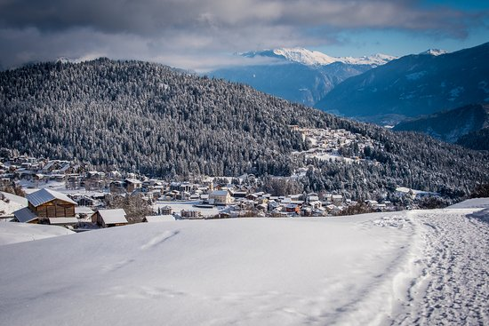 Falera, Suiza: Aussicht
