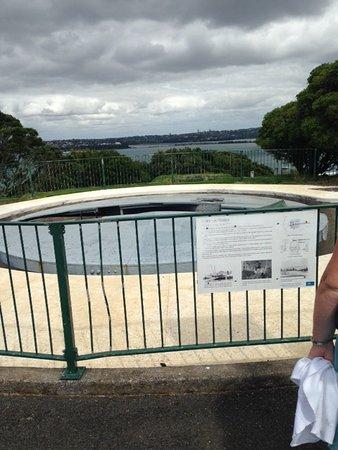 Devonport, Nya Zeeland: Disappearing gun emplacement