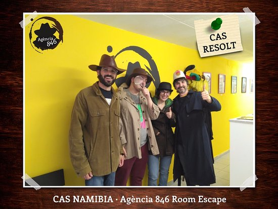 Agencia 846 Escape Room