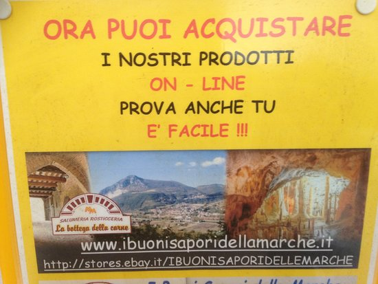 Serra San Quirico, Italy: Dove acquistare on-line