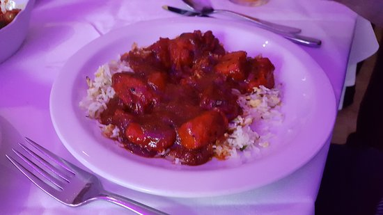 Llanymynech, UK: Pasanda curry