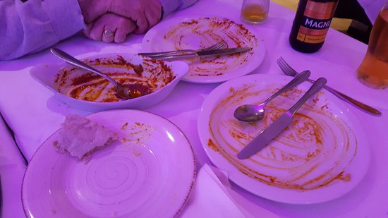 Llanymynech, UK: After the meal.........