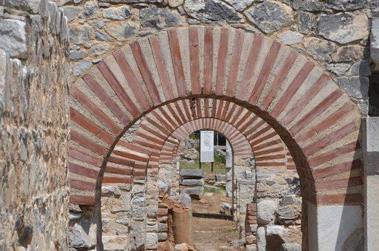 Filippi Archaeological Site: Bogengang