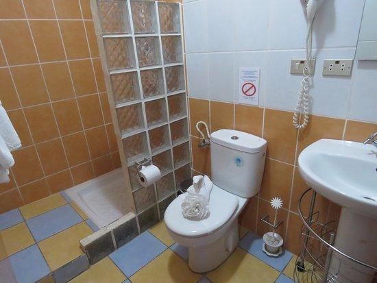 Hotel Los Arcos: bathroom ok