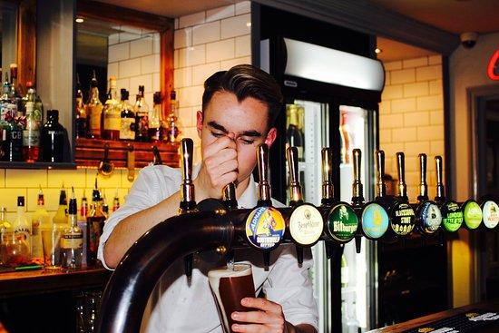 Haverhill, UK: Enjoy a great range of on tap beers