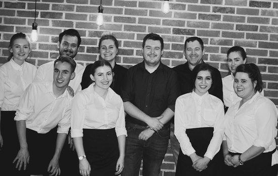 Haverhill, UK: The Nine Jars team!