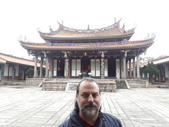 Templo de Confucio en Taipéi: Çok dingin bir ortam