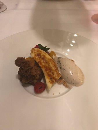 Weggis, Switzerland: Dessert im Restaurant Park Grill