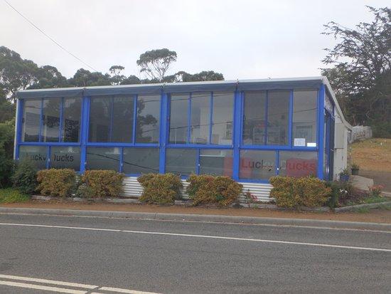 Nubeena, Australia: Lucky Ducks premises