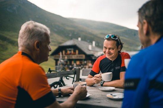 Feld am See, Austria: Ausfahrt mit dem Rennrad