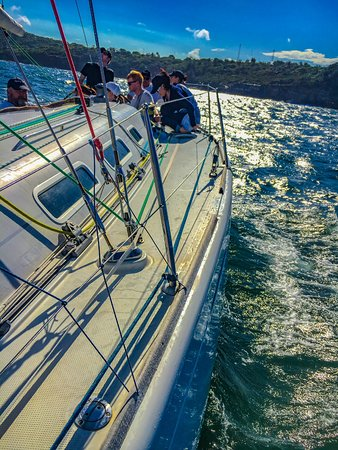 Mosman, Australia: Sailing the harbour