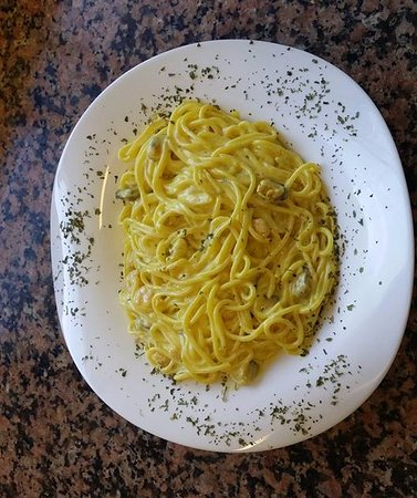 Lembeye, Francia: Spaghettis aux fruits de mer