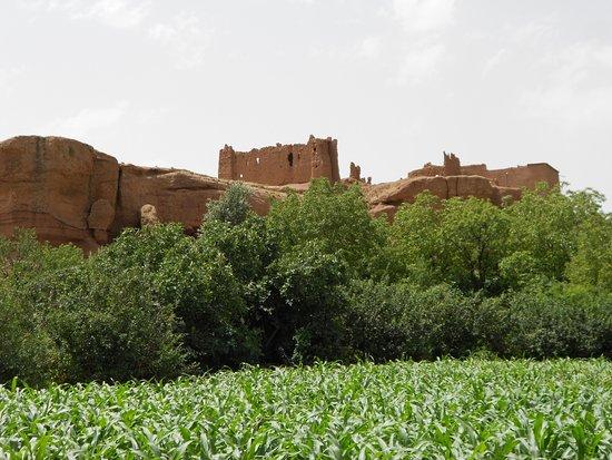 El Kelaa, Marruecos: Jardin à proximité de la Kasba